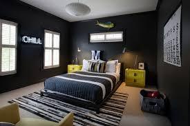couleur de chambre ado garcon chambre enfant chambre ado garçon couleurs foncees grand lit