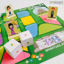 Finish The Race FREE Printable Board Game For JW Kids