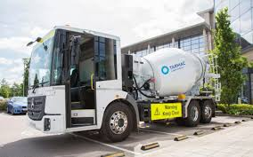 100 Cement Truck Video Construction Firm Tarmac Trials Safer Cement Mixer Lorry In London