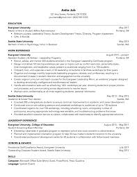 Student Affairs Resume Samples | The Career Centaur Hairstyles Master Of Business Administration Resume Cv For Degree Model 22981 Tips The Perfect One According To Hvard Career 200 Free Professional Examples And Samples For 2019 How Create The Perfect Yoga Teacher Nomads Mays Masters Format Career Management Center Electrician Templates Showcase Your Best Example Livecareer Scrum 44 Designs 910 Masters Of Social Work Resume Mysafetglovescom Sections Cv Mplate 2018 In Word English Template Doc Modern