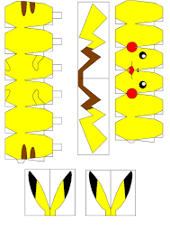 Pikachu Origami Instructions 39 Best Pokemon Images On Pinterest Paper Toys Papercraft
