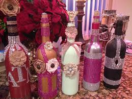 Decorative Wine Bottles Diy by Decorative Wine Bottles Crafts Pinterest Decorative Wine