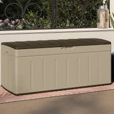 Keter Glenwood Deck Box Assembly by Lockable Deck Boxes U0026 Patio Storage You U0027ll Love Wayfair