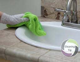 clean grouting bathroom tiles water stains how counter with