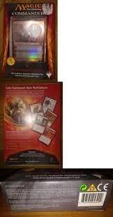 Magic The Gathering Premade Decks Ebay by Mtg Sealed Decks And Kits 183445 Magic Mtg Cards Commander 2014