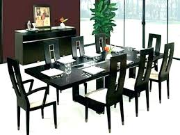 Dining Table Seats 10 12 Black Room Chair