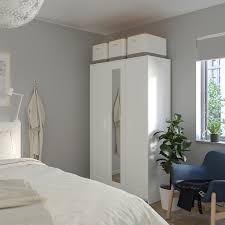 brimnes kleiderschrank 3 türig weiß 117x190 cm ikea