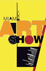 Miami Art Show Poster