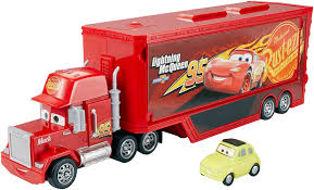 100 Lightning Mcqueen Truck Amazoncom DisneyPixar Cars 3 Travel Time Mack Playset Toys Games