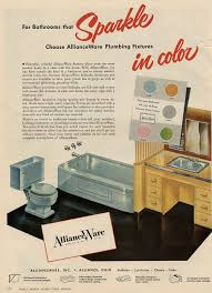 50s Retro Bathroom Decor by The Color Pink In Bathroom Sinks Tubs And Toilets From 1927