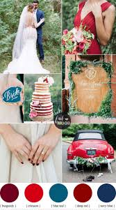 Bold Colours Palette For Early Autumn Wedding