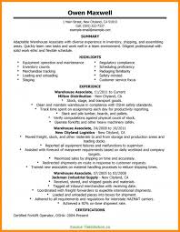 11-12 Resume Examples For Warehouse Jobs | Elainegalindo.com Resume Examples For Warehouse Associate Professional Job Awesome Sample And Complete Guide 20 Worker Description 30 34 Best Samples Templates Used Car General Labor Objective Lovely Bilingual Skills New Associate Example Livecareer