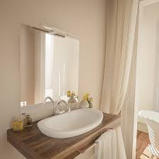 led bad spiegel leuchte 450mm schwarz bad schrank le