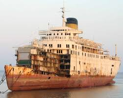 Cruise Ship Sinking Italy by Ship Breaking Cruisemapper