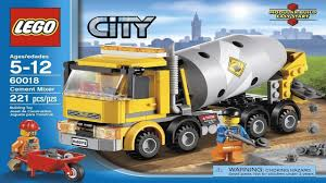 100 Lego Cement Truck LEGO City Instructions For 60018 Mixer YouTube