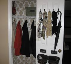 Coat Closet Organization Traditional With None