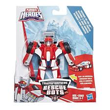 Features Playskool Heroes Transformers Rescue Bots Flip Racers ...