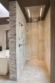 a walk in shower means no glass to clean dusche ohne