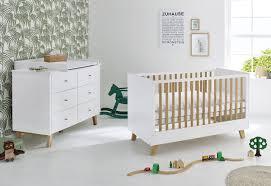 pinolino pan 2 tlg babyzimmer set weiß breit