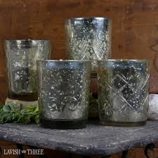Mercury Glass Bathroom Accessories by The Powder Room Bathroom Decor Accessories And Gift Ideas And