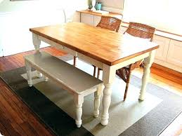 Dining Table Bench With Back Kitchen Seats Large Size