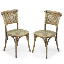 Joveco Antique Vintage Rattan Solid Elm Wood Dining Chair - Set Of 2 (Light  Brown) Safavieh Tana Grey Rattan Ding Chair Set Of Seaa Chairs Baker Fniture Milling Road Chest Table Logo Of 4 Rattan Ding Chairs By Gian Franco Legler 6 Soria Marvelous Antique Value White Floral Vintage Bamboo Round And At Real Mcguire Cracked Ice Six Brown Reading Super Cute Set In Very Nice Black Metal Farmers Argos Room
