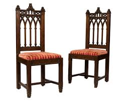 100 Regency House Furniture Pair Carved Gothic Chairs Oct 5 2017 Auction In NJ
