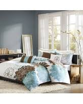 blue and brown bedding sets sales specials