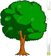 Tree stock vector Illustration of meadow farming countryside