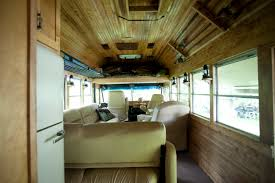 Converted School Bus Camper David Dillon LLC