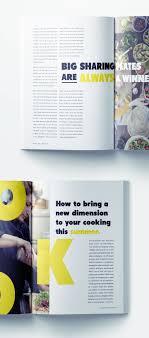 100 Magazine Design Ideas Food Template Design Food