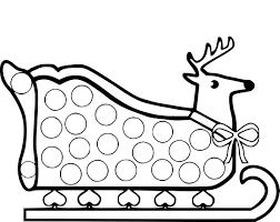 Dessin À Imprimer Noel Gratuit Simple Nom Rennes Du Pere Noel