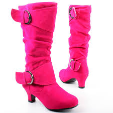 west shoes fuchsia kitten heel slouch boot mid calf boots calf