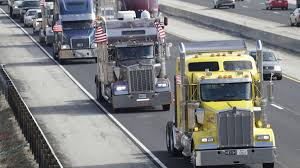 100 Southwest Truck Driver Training Police Keep Slowroll Truck Driver Protesters From Heading