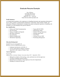 Sample Resumes For College Students With No Experience Maths Within Resume Student 16