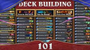 hearthstone deck building 101 jack of all trades paladin youtube