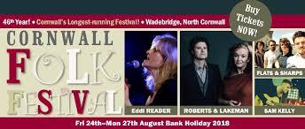 best modern folk bands cornwall folk festival wadebridge august 2018