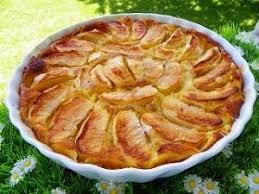 tarte sucree sans pate tarte aux pommes sans pate thermomix par thermominoux