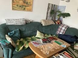 wohnzimmer sofa gebraucht guter zustand ausziehbar mit 2
