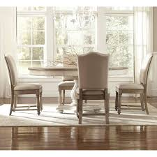 Upholstered Dining Chairs Set Of 6 by Antique Weathered Dining Table In Affordable Ways