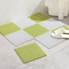 bad teppich pad matte rutschfest dusche diy boden badezimmer