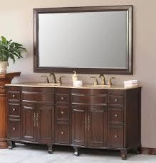 72 Inch Double Sink Bathroom Vanity by Furniture Classic Design Of 72 Inch Freestanding Bathroom Vanity