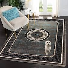 siela teppich wohnzimmer türkis kurzflor teppich türkis küchenteppich teppiche für schlafzimmer