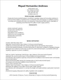 Professional Environmental Engineer Resume Templates To Showcase Your Talent