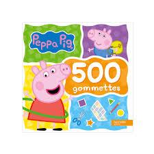 Livre Peppa Pig 500 Gommettes Pour Enfant De 2 Ans à 5 Ans Oxybul