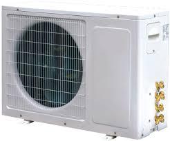 Mini Split Ceiling Cassette Air Conditioner by 48000 Btu Dual Zone 4 Ton Inverter Ductless Split Air Conditioner