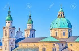 100 Architectural Masterpiece Salzburger Dom Cathedral Is The Medieval Architectural Masterpiece