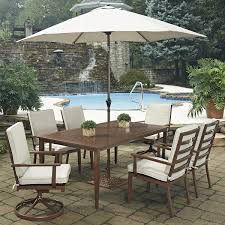 Patio Furniture | Nebraska Furniture Mart Hampton Bay Statesville 5piece Padded Sling Patio Ding Set With 53 In Glass Top Garden Fniture Wikipedia 6 Seater Outdoor Fniture Table And Chairs Cushion Sets Mandaue Foam Great Round Remodel Torino 7 Piece A Guide To Chair Height Branch Outdoor Table Metal From Trib 4 Bistro Steel Heart Cream Devoko 9 Pieces Space Saving Rattan Cushioned Seating Back Sectional