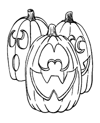 Scary Halloween Pumpkin Coloring Pages by Scary Halloween Coloring Pictures Coloring Home