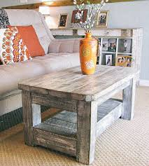 Amazing Of Gray Wood Coffee Table With Weathered Grey Reclaimed Features